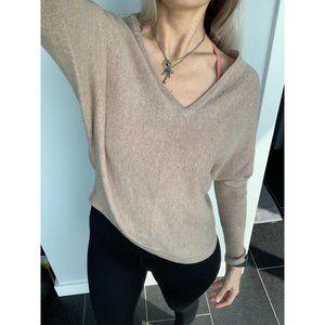 BCBGMaxAzria Wyatt V-Neck Dolman Sweater